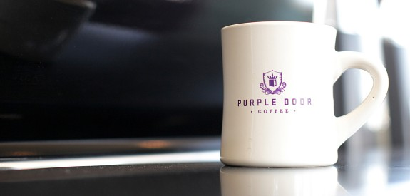 <span>PURPLE DOOR COFFEE</span><br />Job training. Employment. Community. An exit.