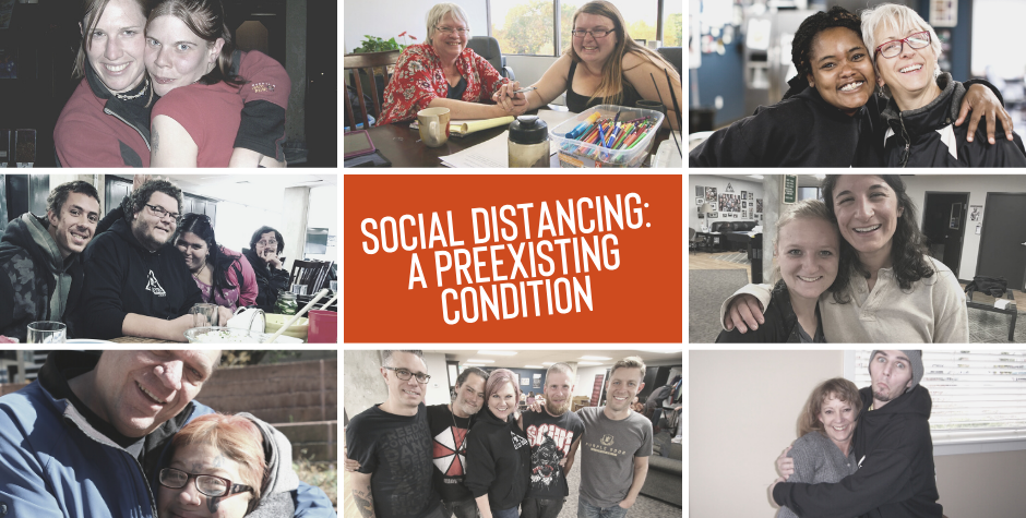 Social Distancing :: A Preexisting Condition